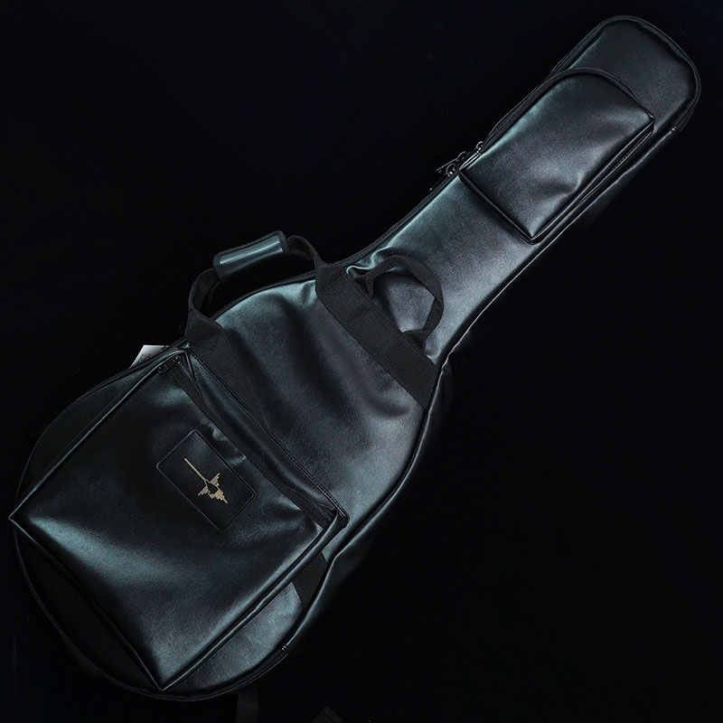 "NAZCA IKEBE ORDER Protect Case for Semi-Acoustic Guitar ""BLACK LEATHER"" [セミアコ用] 【即納可能】"