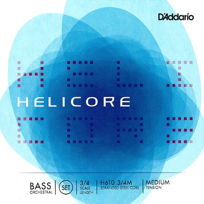 Helicore Strings Bowed Orchestral (D'Addario H610 Bass Strings)