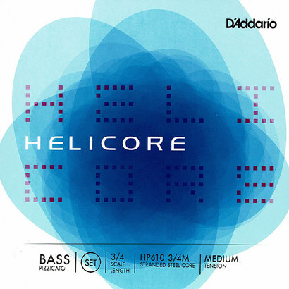 Helicore (D'Addario Bowed Strings) Pizzicate Bass Strings HP610