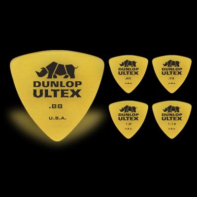 【ピック】 Dunlop 426 ULTEX TRI Picks×10枚セット