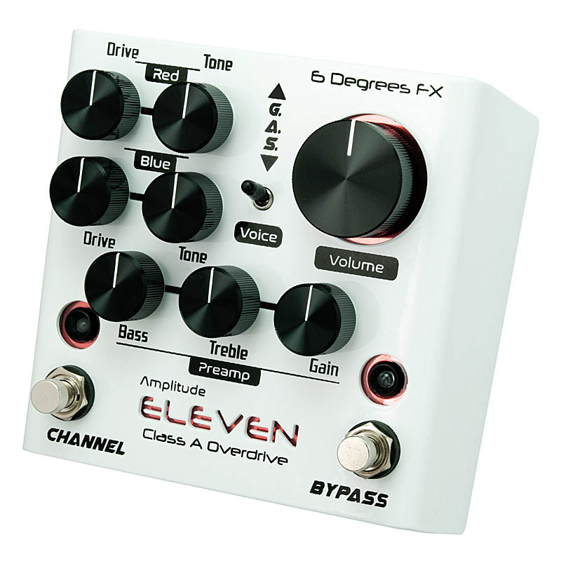 6 Degrees FX Amplitude ELEVEN [Class A Overdrive]