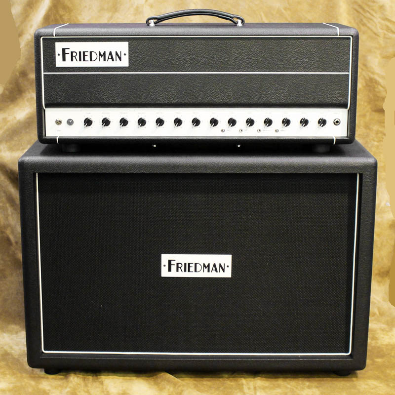 FRIEDMAN BE-50 DELUXE HEAD [White Panel ver.] & 2×12 Cabinet ※MOGAMI #3082 Speake rCable プレゼント