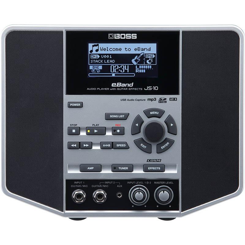 BOSS eBand JS-10 [AUDIO PLAYER with GUITAR EFFECTS] 【ikbp10】