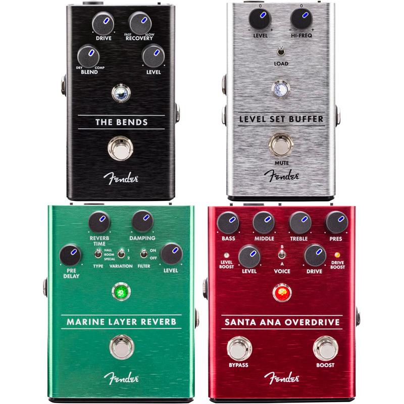 Fender 4 Reverb pedals Reverb set [Level Set Buffer The Layer & The Bends Compressor & Santa Ana Overdrive & Marine Layer Reverb]【特価】, AuroraIsm:8e14f59c --- sunward.msk.ru