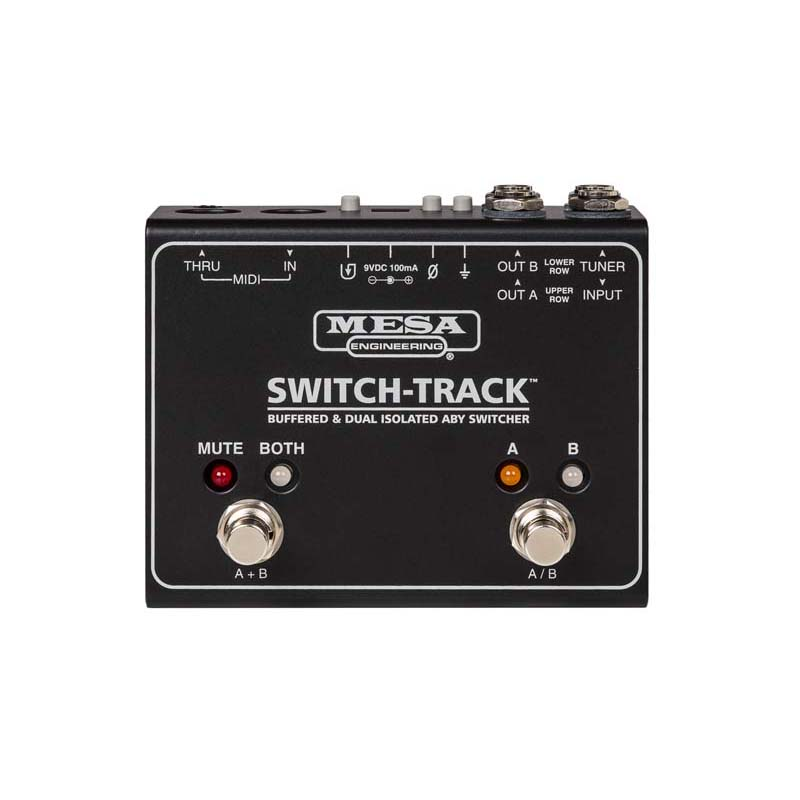 Mesa/Boogie SWITCH-TRACK [Buffered & Dual Isolated ABY Switcher]
