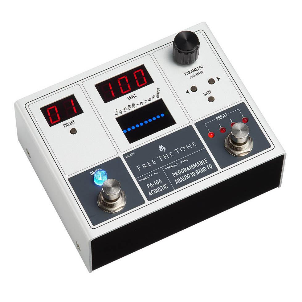 Free The Tone PA-1QA [PROGRAMMABLE ANALOG 10 BAND EQ/アコースティック用]