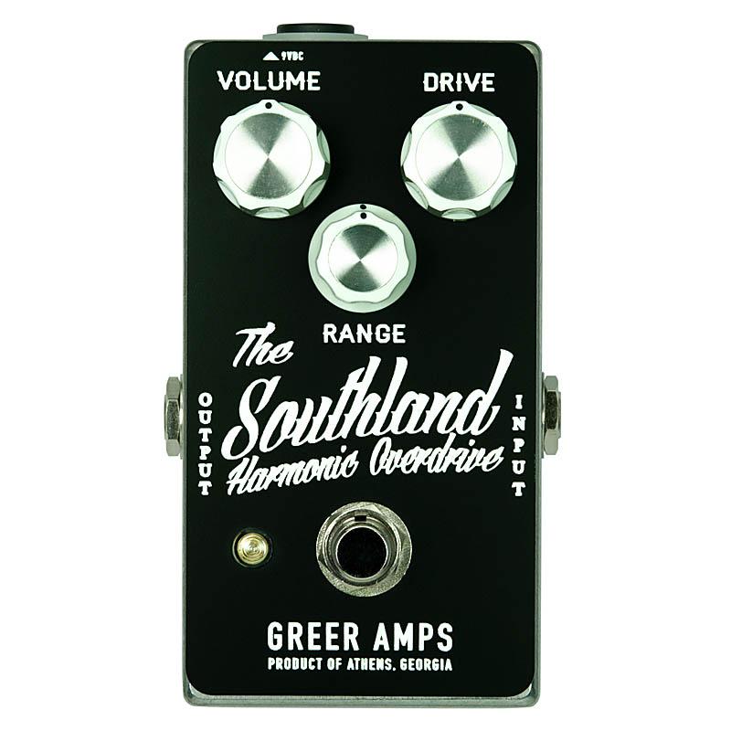 Greer Amps Southland Harmonic Overdrive [Black&White]