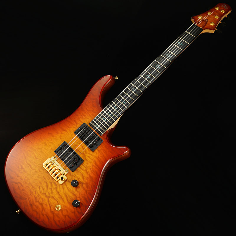"STR GUITARS OS624 #33 (Fire Burst/5A-Quilted Maple) ""REVOLE 30TH ANNIVERSARY"" 【PGC-OTHERS】"