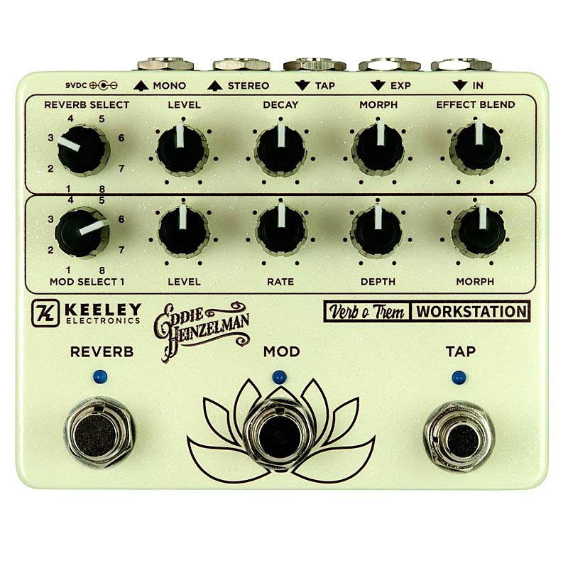 エフェクター Keeley Electronics 新着セール Verb Workstation o Trem 新色追加して再販