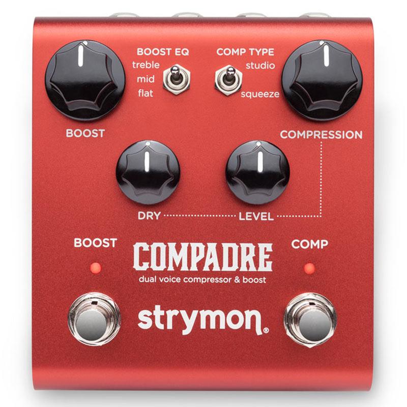 公式通販 エフェクター strymon COMPADRE dual compressor 評価 voice ikbp5 boost