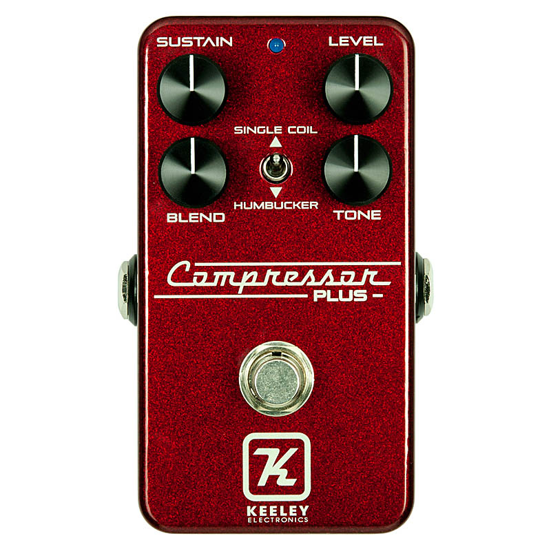 Keeley Electronics Compressor Plus LTD Royal Red 【Keeley ベースボールキャッププレゼント!】 【Keeleyオリジナル Tシャツ プレゼント!】