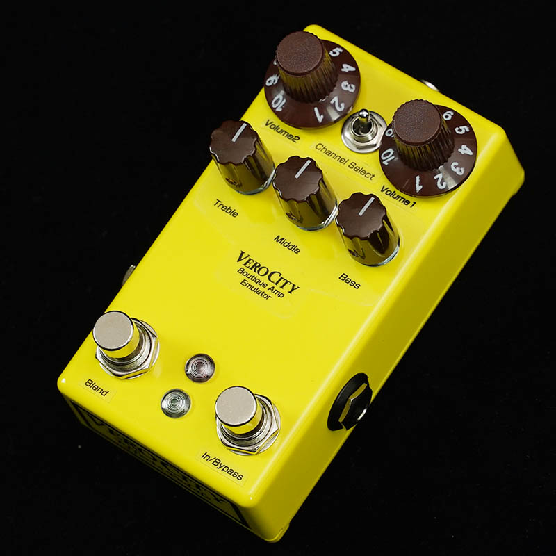 VeroCity Effects Pedals Vero-Bass