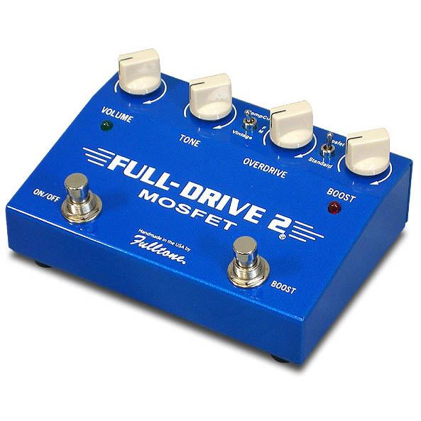 Fulltone FULL-DRIVE2 MOSFET [メタリックブルー]