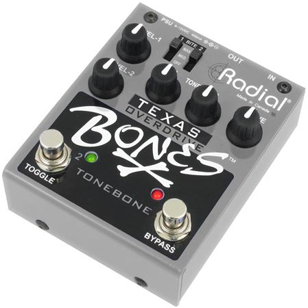 Radial Bones Texas dual overdrive 【特価】