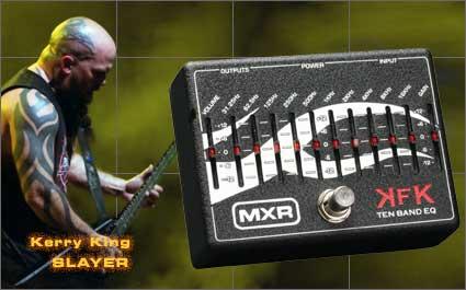 MXR KFK-1 TEN BAND EQUALIZER w/専用アダプター