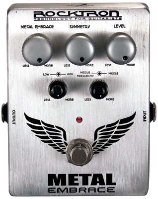 Rocktron Boutique Stompbox Metal Embrace