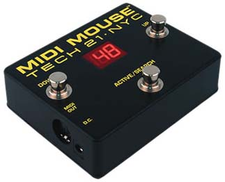 TECH 21 MIDI MOUSE 【HxIv36_04】