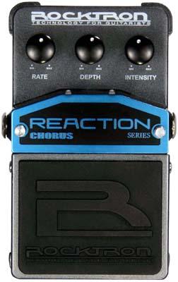 Rocktron Reaction Stompbox Series Reaction Chorus