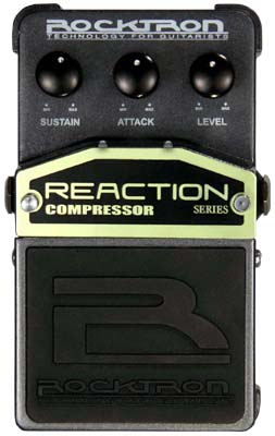 Rocktron Reaction Stompbox Series Reaction Compressor