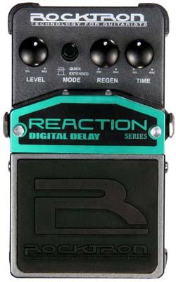Rocktron Reaction Stompbox Series Reaction Digital Delay