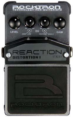 Rocktron Reaction Stompbox Series Reaction Distortion 1