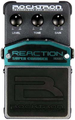 Rocktron Reaction Stompbox Series Reaction Super Charger