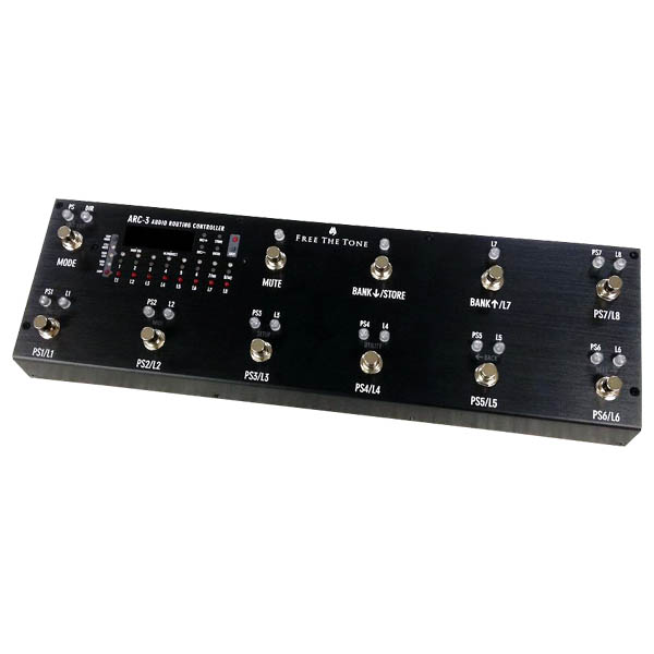 Free The Tone ARC-3 [Audio Routing Controller] (Black) 【ikbp5】