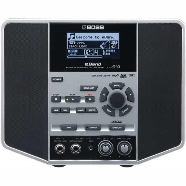 【ikbp10】 EFFECTS] PLAYER BOSS with [AUDIO GUITAR JS-10 eBand
