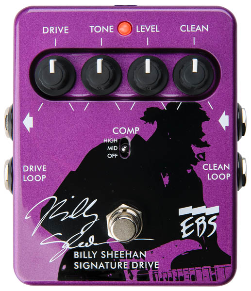 EBS Billy Sheehan Signature Drive Pedal
