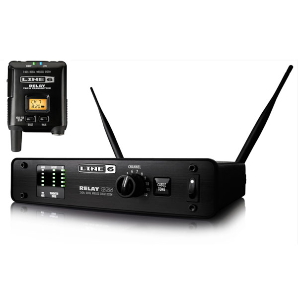 "LINE6 Relay G55 [Wireless System] 【ikbp5】 【Line6特製""トランスミッターホルダー""プレゼント!】"