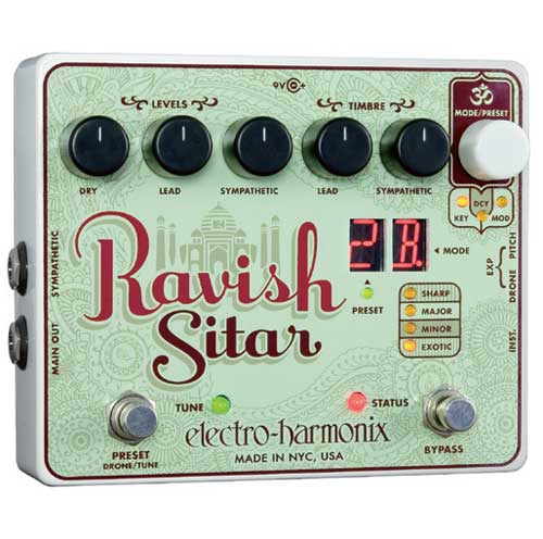 Electro Harmonix Ravish Sitar 【期間限定新品特価!】