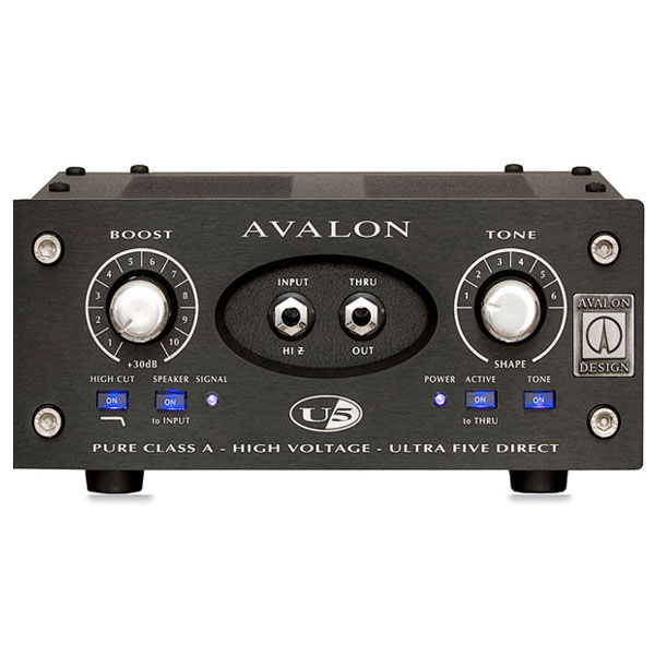 "AVALON DESIGN U5 ""Black Panel"" [Mono Instrument DI Preamplifier] 【特価】"