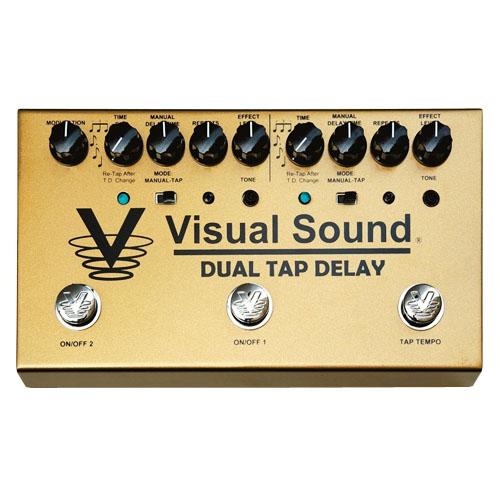 <title>エフェクター Visual Sound TRUETONE V3 入荷予定 Dual Tap Delay</title>
