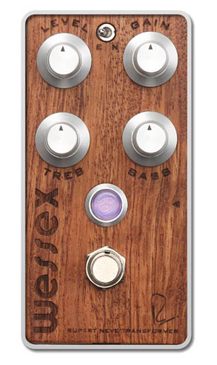 Bogner WESSEX RUPERT NEVE DESIGNS OVER DRIVE [Bubinga exotic hardwood top panel]