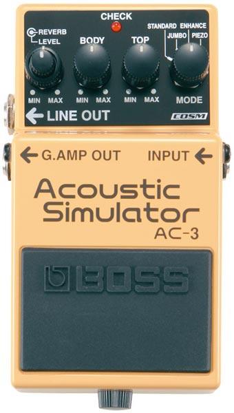 BOSS AC-3 [Acoustic Simulator] 【HxIv15_04】 【期間限定★送料無料】 【ikbp5】 【IKEBE×BOSSオリジナルデザインピックケースプレゼント】