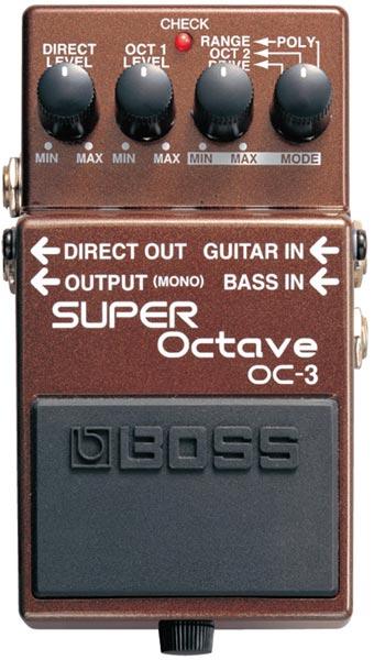 BOSS OC-3 [SUPER Octave] 【期間限定★送料無料】 【ikbp5】 【HxIv35_04】 【IKEBE×BOSSオリジナルデザイン缶クージープレゼント】