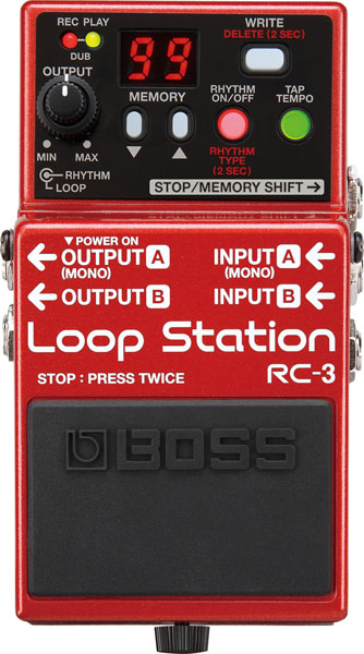 BOSS RC-3 [Loop Station] 【期間限定★送料無料】 【ikbp5】