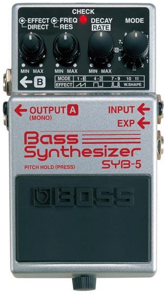 BOSS SYB-5 [Bass Synthesizer] 【期間限定★送料無料】 【ikbp5】 【IKEBE×BOSSオリジナルデザインピックケースプレゼント】