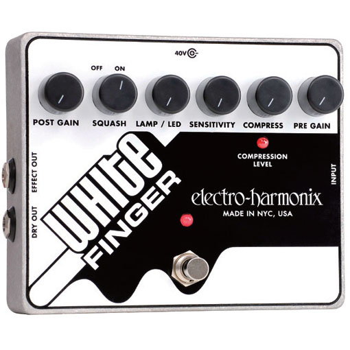 Electro Harmonix White Finger [NEW Version]