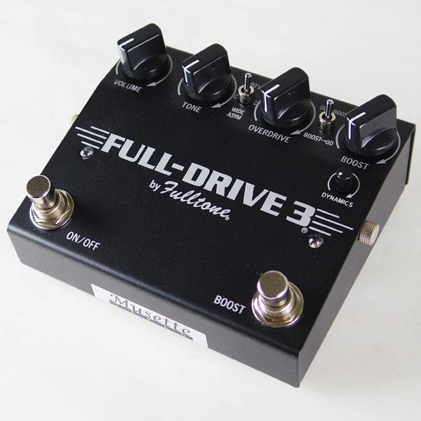Fulltone FULL-DRIVE3 BLACK 【特価】