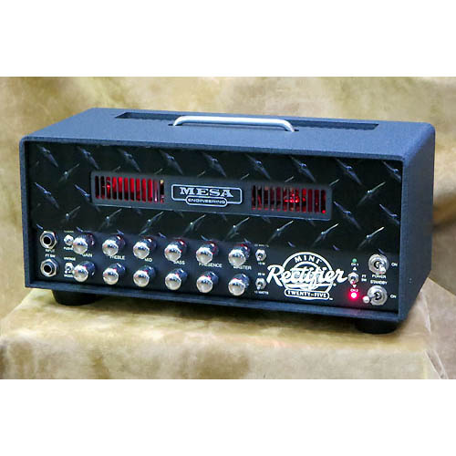 Mesa/Boogie MINI Rectifier 25 Head [Black Diamond / Red LED] 【特価】