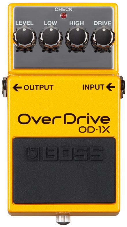 オーバードライブ 送料無料 BOSS OD-1X OverDrive ikbp5 当店限定販売 期間限定