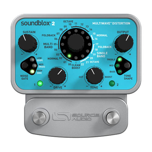 SOURCE AUDIO SA220 Multiwave Distortion 【特価】
