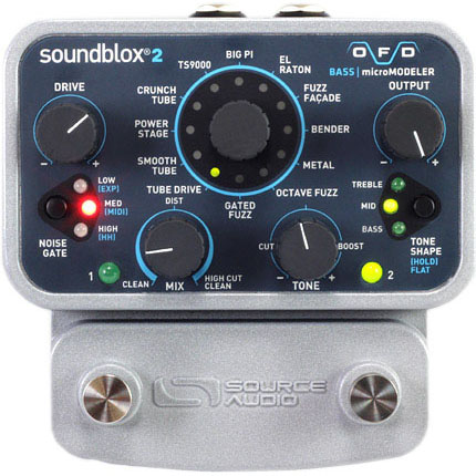 SOURCE AUDIO SA228 OFD Bass micro Modeler