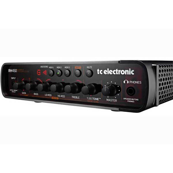 tc electronic Bass Amp Head RH450