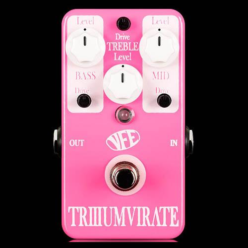 VFE pedals Triumvirate