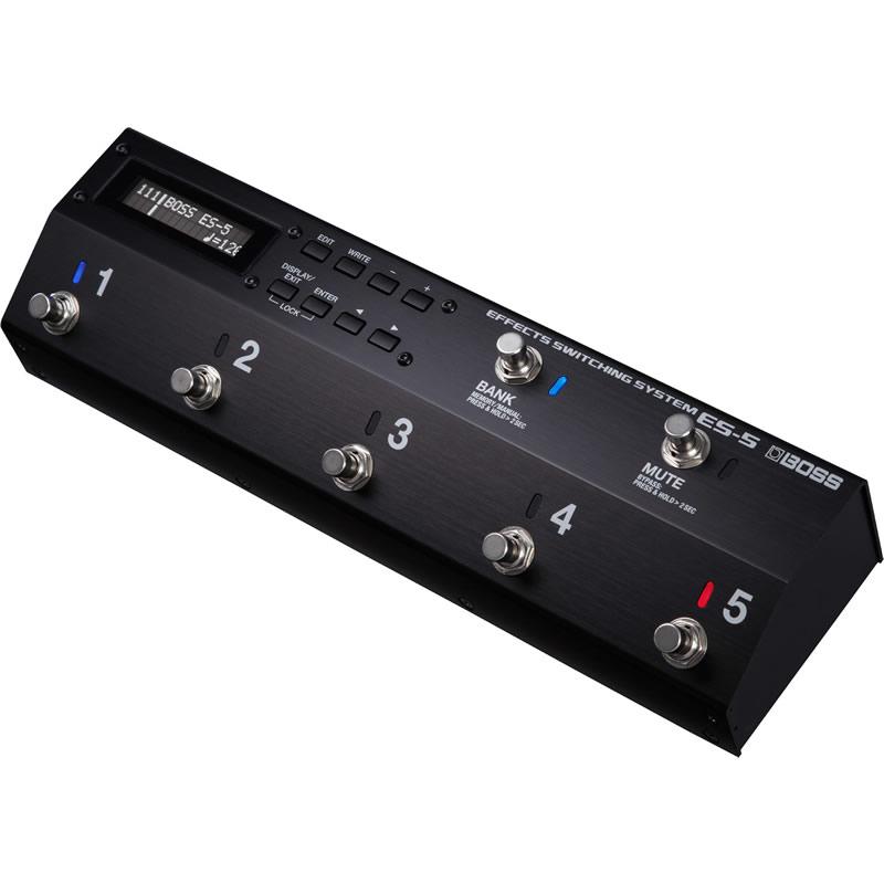 BOSS ES-5 [EFFECT SWITCHING SYSTEM] 【新製品AMP/FX】 【ikbp5】