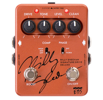 EBS Billy Sheehan Signature Drive DELUXE 【新製品AMP/FX】
