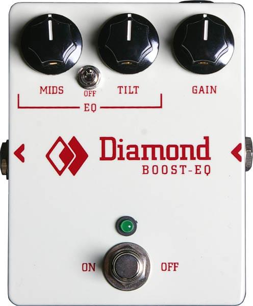 Diamond GUITAR PEDALS BOOST-EQ BEQ-1