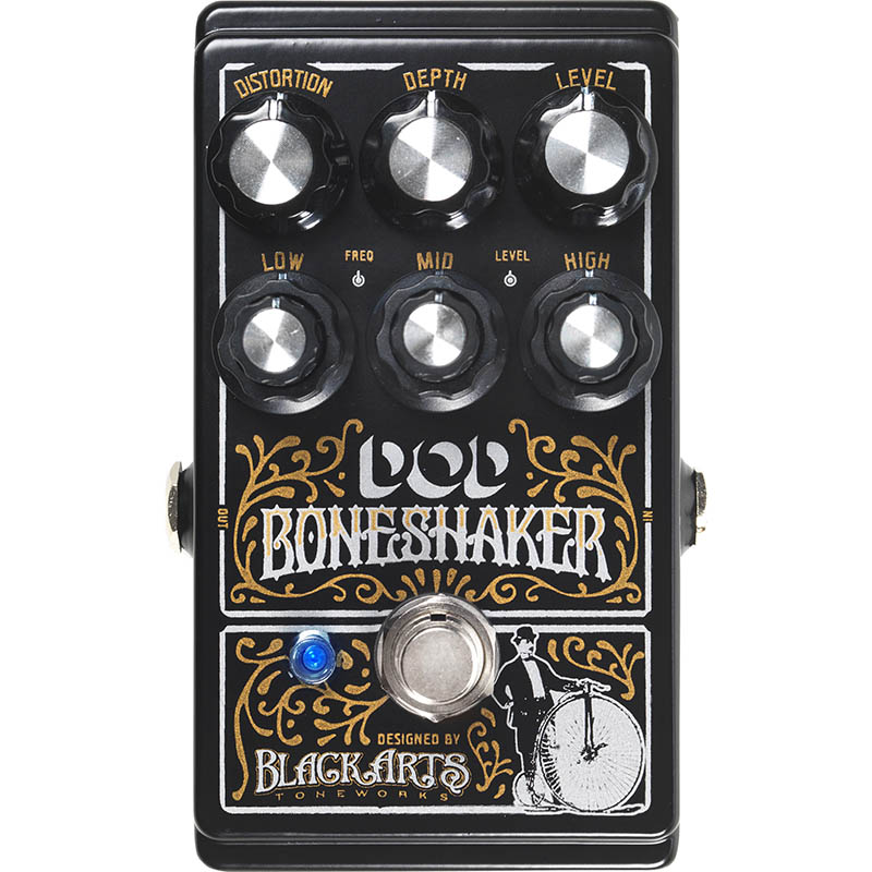 DOD Boneshaker [Distortion Pedal with 3-Band Parametric EQ] 【特価】